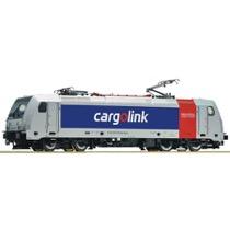 Elektrolokomotive BR 185 der Railpool - cargolink DC