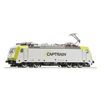 Elektrolokomotive BR 186, Captrain DC