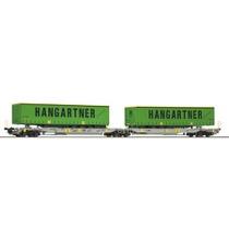 """AAE T2000 vogn med """"Hangartner"""" trailer DC"""