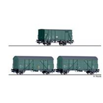 "Freight car set ""Bauzugwagen"" of the"