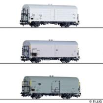 Freight car set INTERFRIGO of the