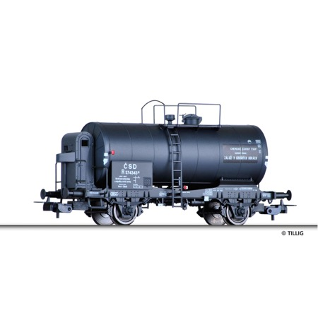 Tank car R of the CSD