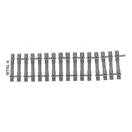 Concrete sleeper band,  length 110 mm