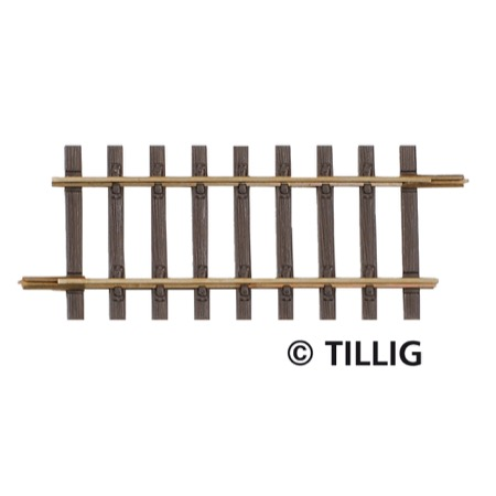 Straight track, length  64 mm