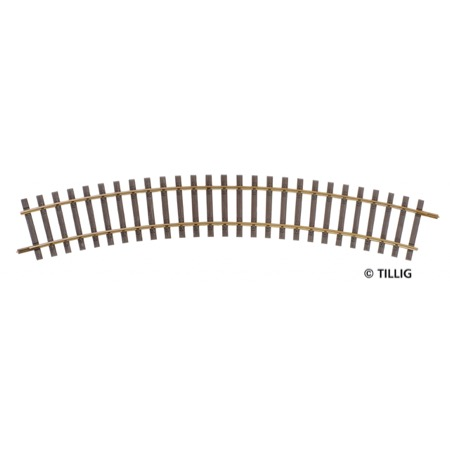 Curved track R366/30