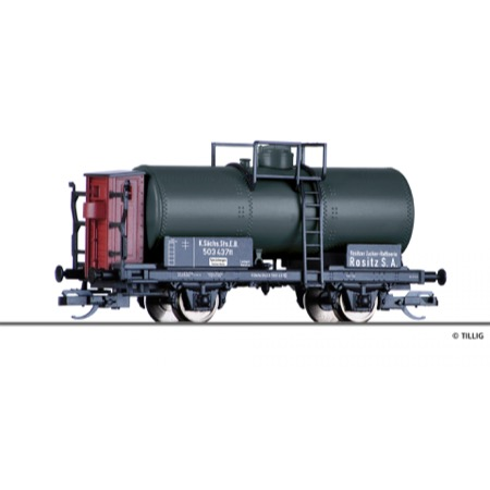 """Tank car """"Rositzer Zucker-Raffinerie"""" of"""