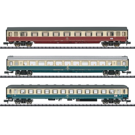 Schnellzugwagen-Set IC 611 Te