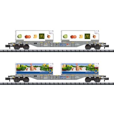 Containertragwagen-Set Kühltr