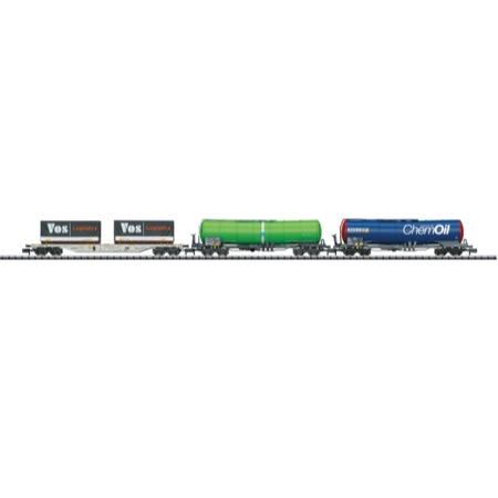 Güterwagen-Set Schweiz