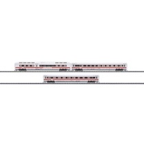 Set mit 3 InterCity Express Zwischenwagen. - Zwischenwagen f. ICE