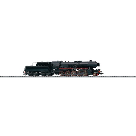 Dampflokomotive mit Schlepptender. - Reihe 63a, NSB DC