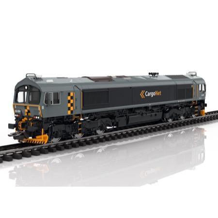 Diesellok Class 66, CargoNet, DC