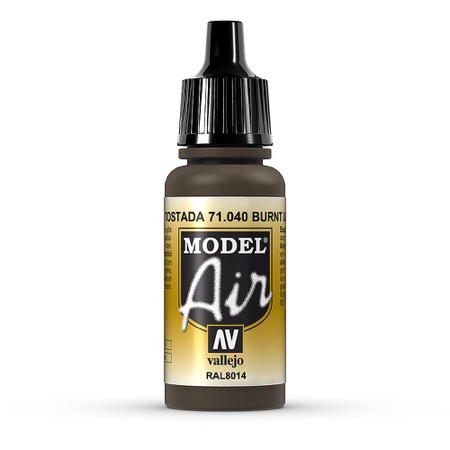 Umbra, gebrannt, 17 ml, Model Air