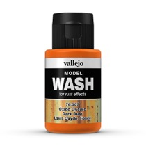 Wash-Colour, dunkler Rost, 35ml