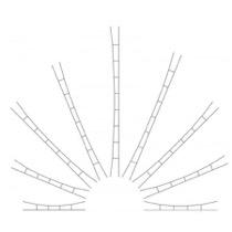 Universal køreledning 190-210 mm/5Stk