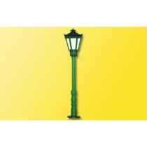 Parklampe - Grøn, LED varmhvid