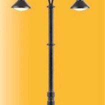 "Perronlampe ""Baden-Baden"" - Doppelt"