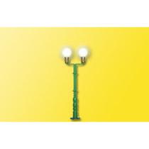 Kuglelampe dobbelt