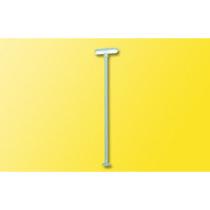 Perronlampe, 2 LED Hvid