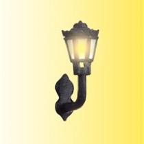 Nostalgisk væglampe, LED varmhvid