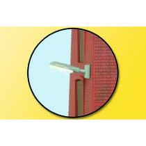 Industriel lygte til vægmontering, hvid LED
