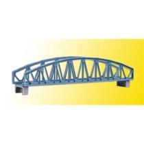 N Stahlbogenbrücke, gerade