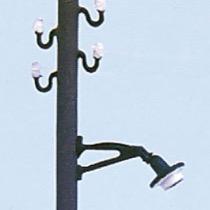 Laternen schräg f.Telegraf.2St