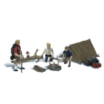 H0 Leute beim Camping