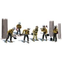 H0 Feuerwehr im Einsatz