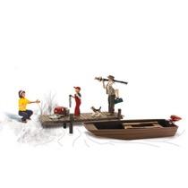 H0 Familie geht angeln