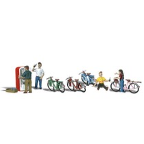 Cyklister og sodavands automat
