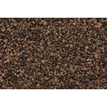 Ballast - Schotter,dunkelbraun, fein