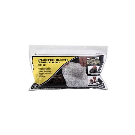 PLASTER CLOTH - Gipstuchrolle, breit     20.3 cm