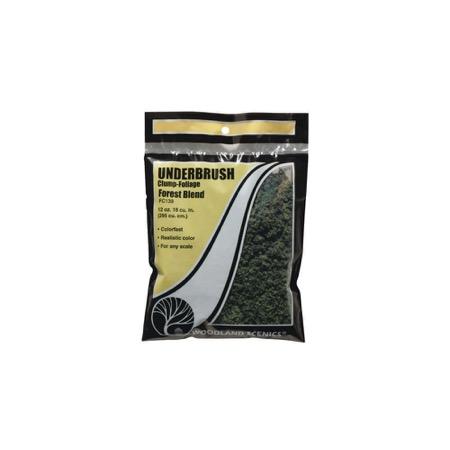UNDERBRUSH - Beflockungsmaterial Waldmischung Btl