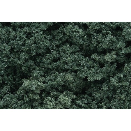FOLIAGE CLUSTERS - Flocken grob dunkelgrün