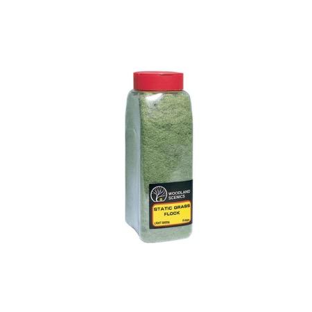 STATIC GRASS FLOCK - Hellgrün, im Shaker