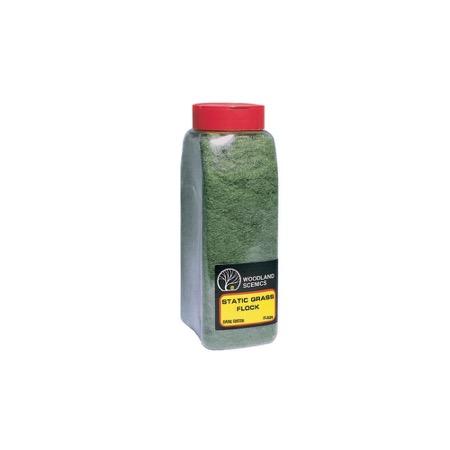 STATIC GRASS FLOCK - Mørkegrøn - strødåse
