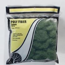 POLY FIBER - Synthetische Faser, grün