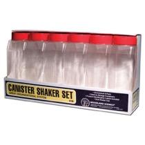 CANISTER SHAKER - Streudosen - Set (6 St.leer
